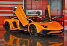 Lamborghini Aventador SV for sale front