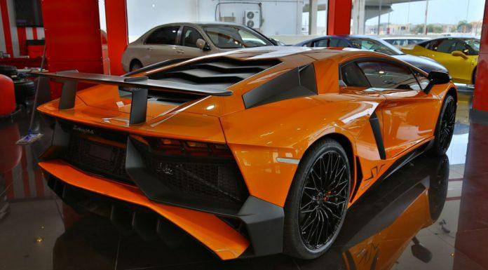 Lamborghini Aventador SV for sale rear
