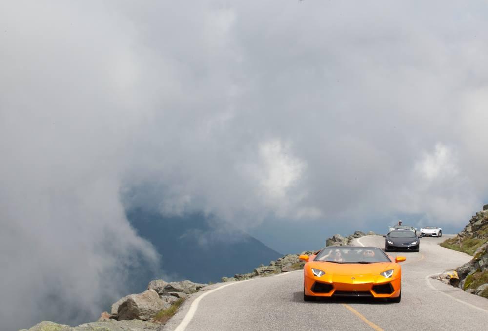 Lamborghini Giro 2015: Innbythesea to Mt. Washington