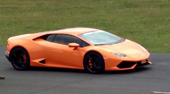 Intoxicating Lamborghini Huracan Drag Racing Action!