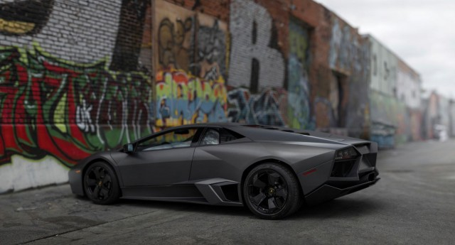 Lamborghini Reventon auction side