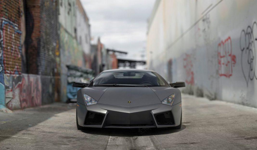 Lamborghini Reventon auction front