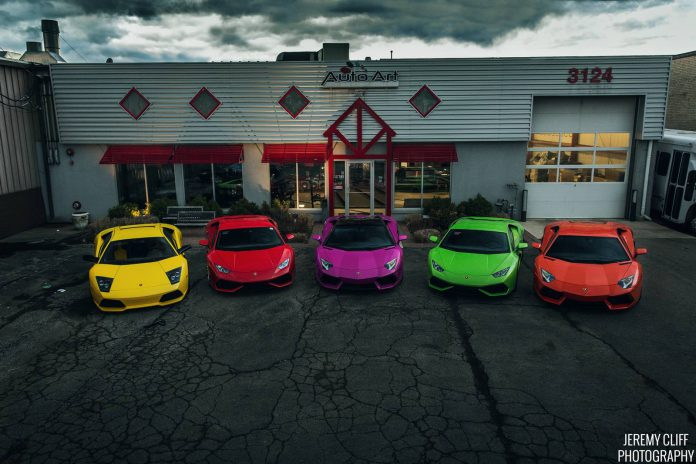 Photo of the Day: Lamborghini Skittles by Jeremy Cliff