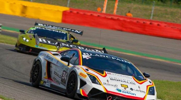 Lamborghini Super Trofeo at Spa - David Perel Gallardo
