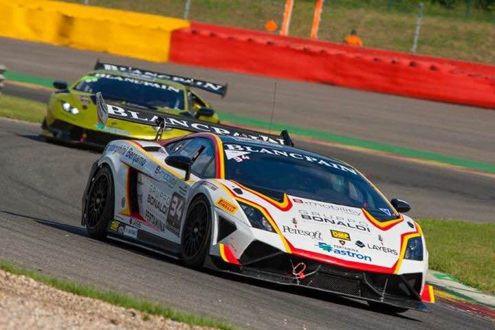 Lamborghini Super Trofeo at Spa