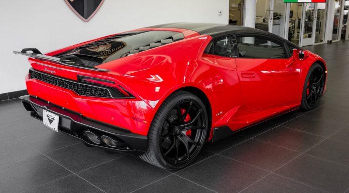 Vorsteiner Lamborghini Huracan For Sale rear