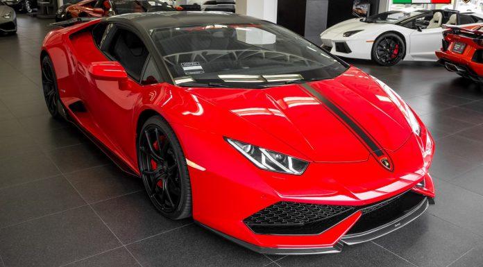 Vorsteiner Lamborghini Huracan For Sale front