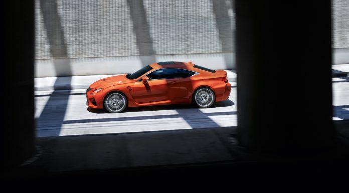 Lexus RC F on track