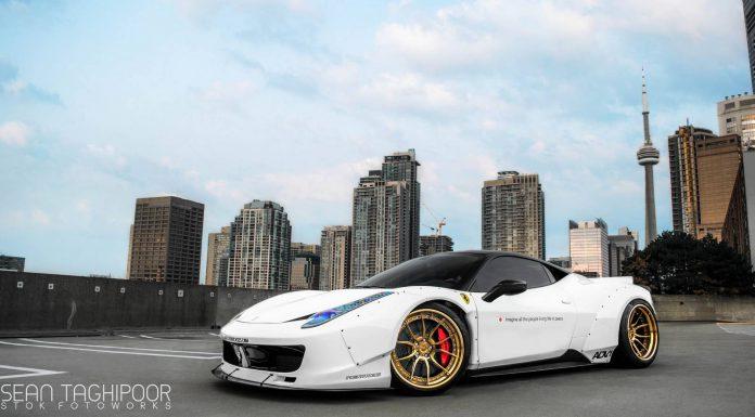 Toronto's First Liberty Walk Ferrari 458 Italia