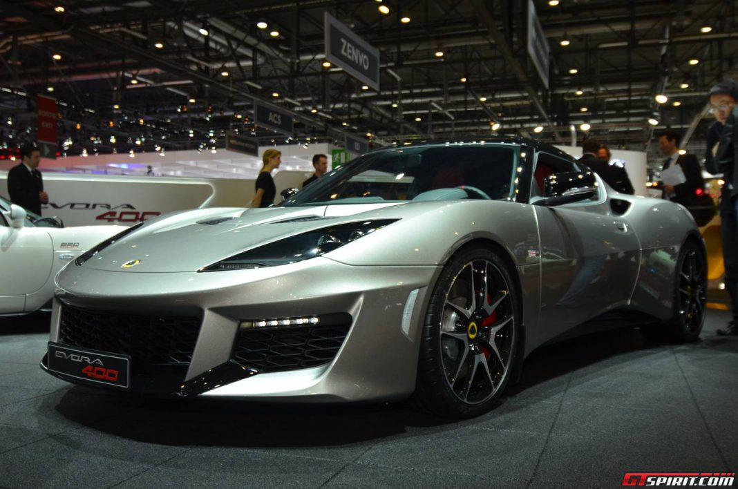 Updated Lotus Evora on the Way