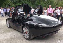 Maserati Zagato Mostro at Villa d'Este 2015