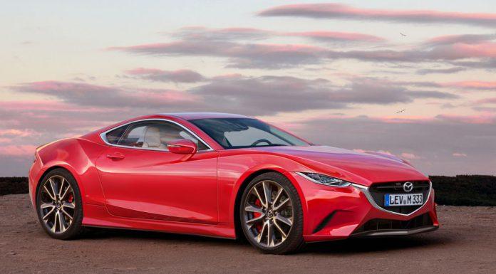 Next-gen Mazda RX-7 rendered