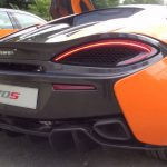 McLaren 570S roars at Goodwood