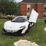 McLaren 675LT white