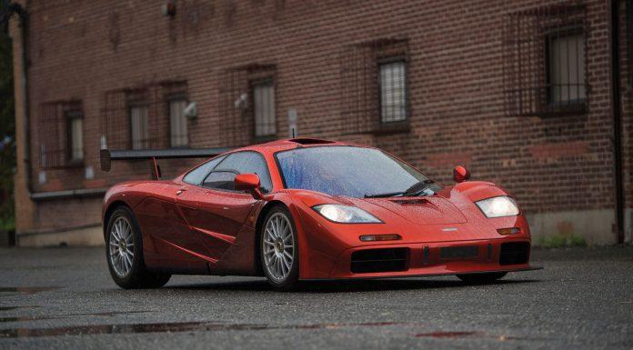 McLaren F1 LM Spec Auction front