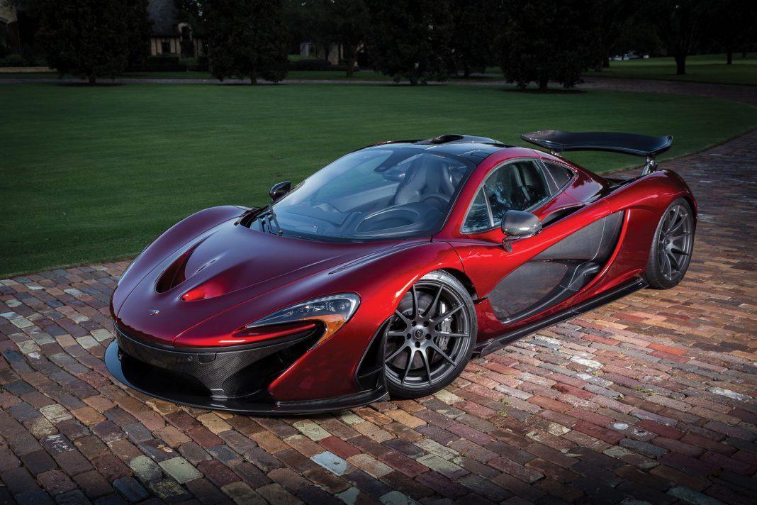 McLaren P1 RM Sotheby's front