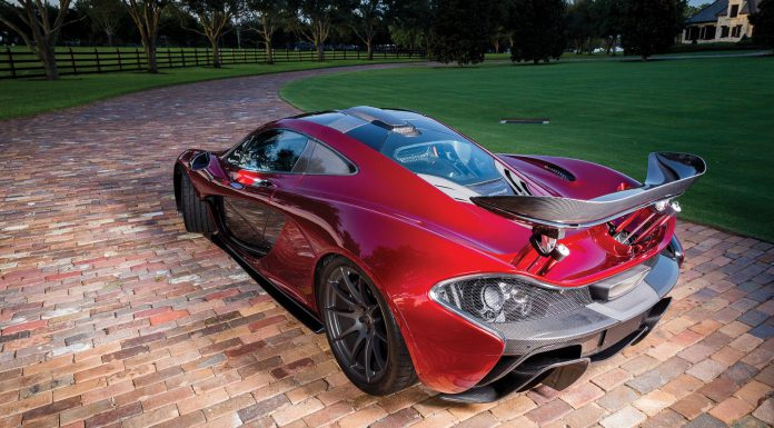 McLaren P1 RM Sotheby's rear