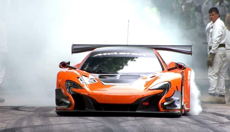 McLaren at Goodwood Festival of Speed 2015