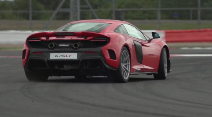 Chris Harris Drives the New McLaren 675 LT
