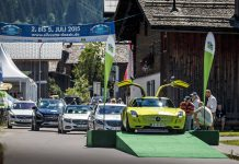 Mercedes-Benz at the Silvretta Classic Rallye 2015