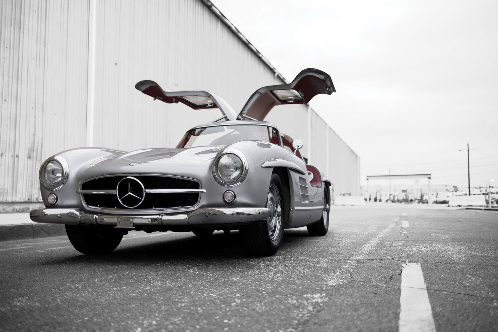 mercedes benz 300sl alloy gullwing could sell for 6 5 million