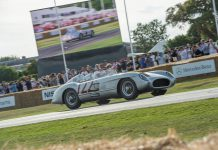 Mercedes-Benz 300 SLR Impressions at Goodwood 2015