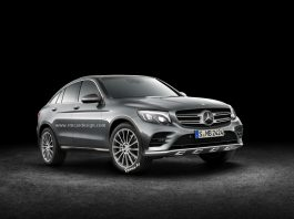 Mercedes-Benz GLC Coupe front