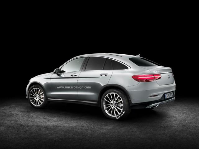 Mercedes-Benz GLC Coupe rear