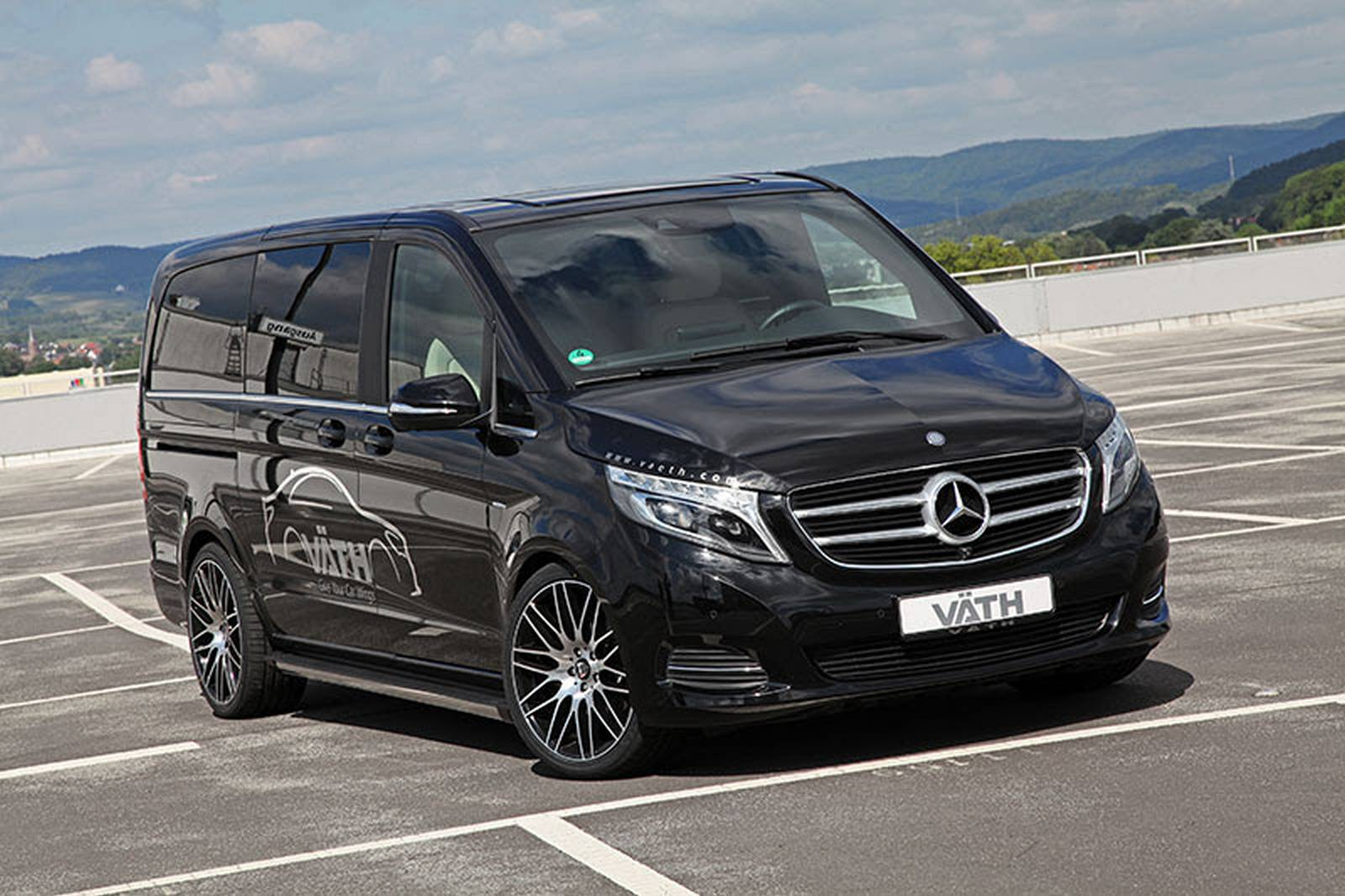 official vath mercedes benz v class gtspirit. Cars Review. Best American Auto & Cars Review
