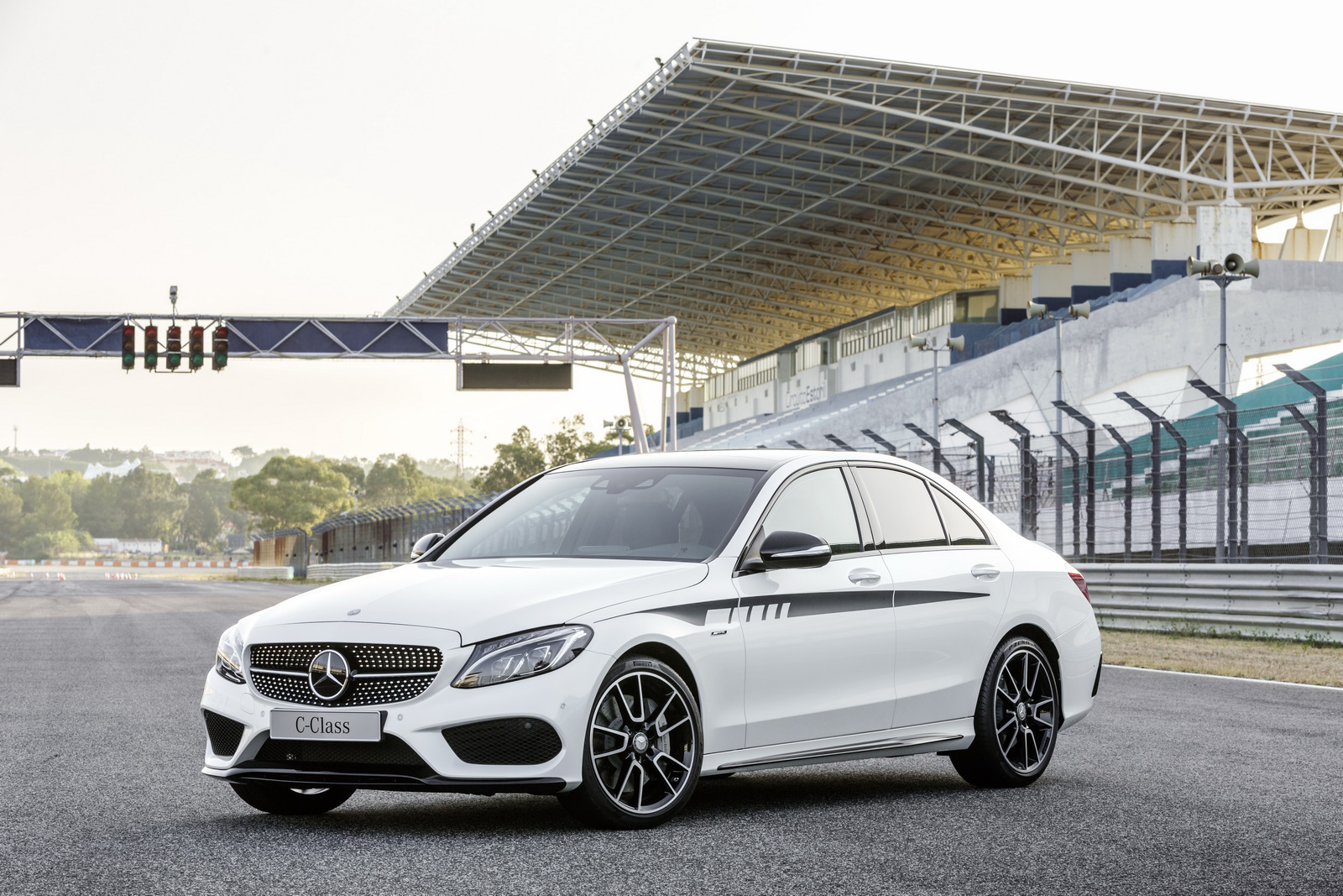 Mercedes amg reveals new c class components gtspirit for Mercedes benz acc