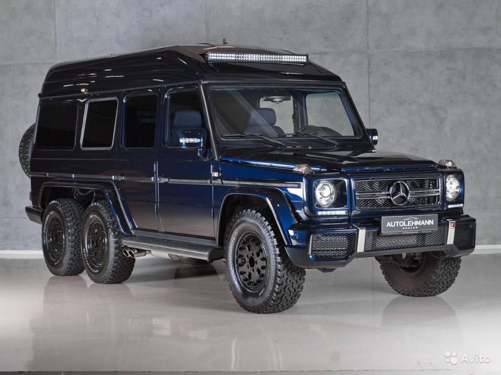 Mercedes benz g500 schultz the original g63 6x6 gtspirit - Classe g 6x6 ...