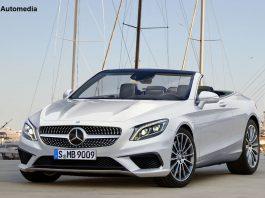 Mercedes-Benz S-Class Cabriolet rendered