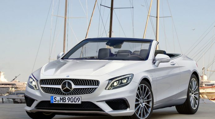 Mercedes-Benz S-Class Cabriolet rendered