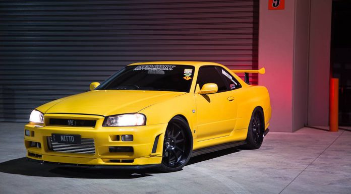 1000hp Lightning Yellow Nissan GT-R Skyline V-Spec