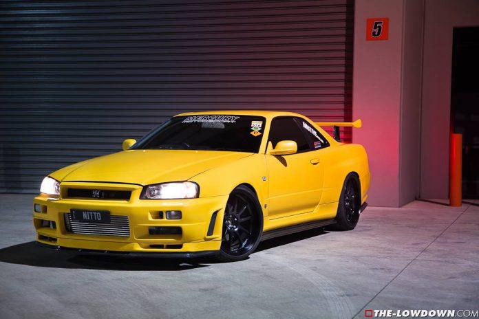 1000hp Lightning Yellow Nissan GT-R Skyline V-Spec