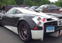 Pagani Huayra The King in the U.S