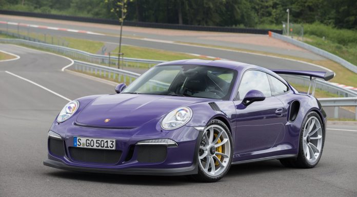 Gorgeous Ultraviolet Porsche 911 GT3 RS!