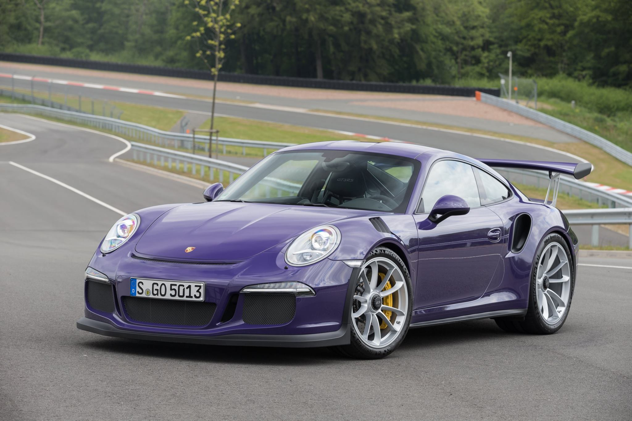 Gorgeous Ultraviolet Porsche 911 Gt3 Rs Gtspirit