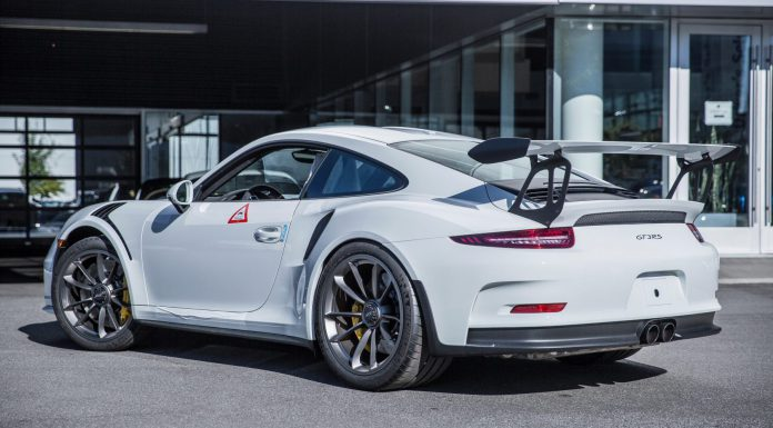 2016 Porsche 911 GT3 RS Rear
