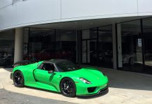 IndyCar Driver Graham Rahal Acquires New Porsche 918 Spyder