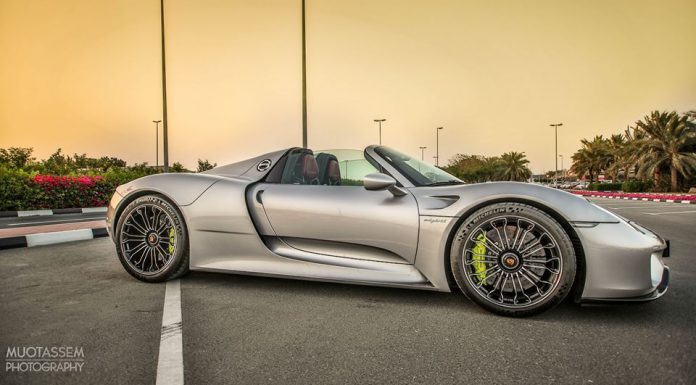 Porsche 918 Spyder for sale in Dubai front
