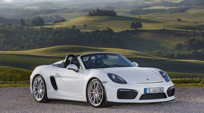 White Porsche Boxster Spyder Stuns in the Wild!