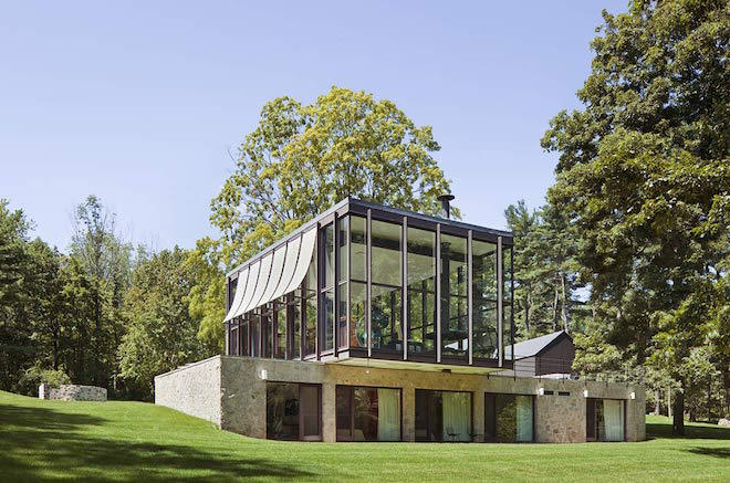 Philip Johnson's Wiley House