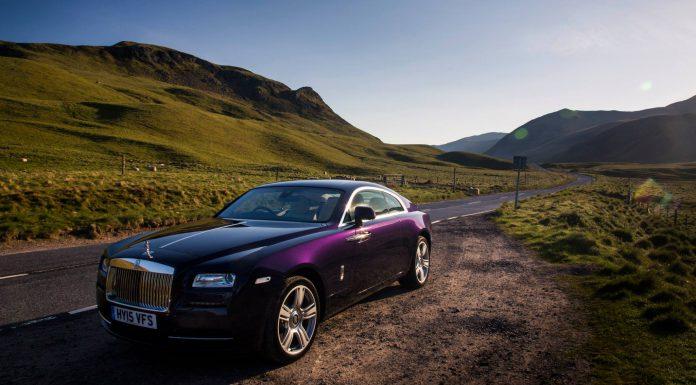 Rolls-Royce Wraith Purple