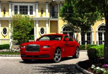 Red Rolls-Royce Wraith St. James Edition
