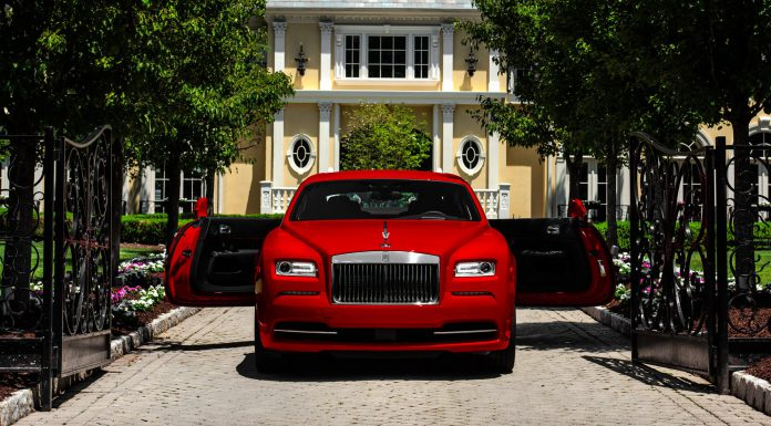 Red Rolls-Royce Wraith