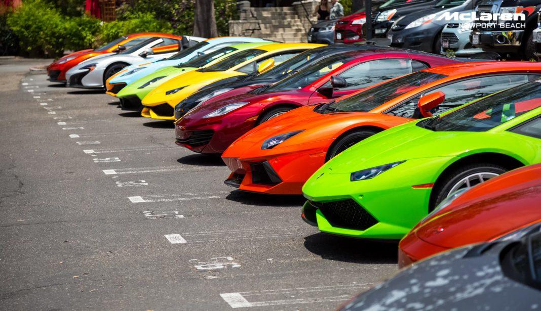 Lamborghini and McLaren
