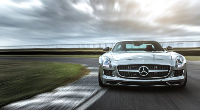 Akrapovic Mercedes SLS AMG