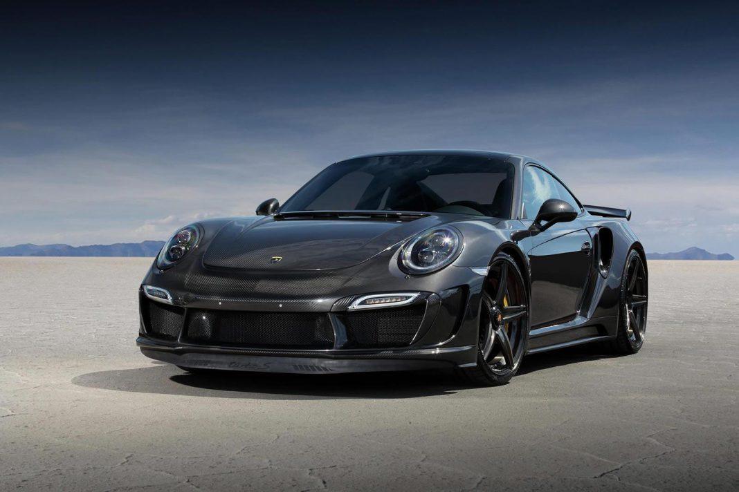 TopCar Porsche 911 GTR Stinger Carbon Edition front