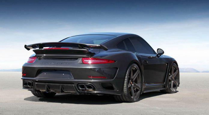 TopCar Porsche 911 GTR Stinger Carbon Edition rear